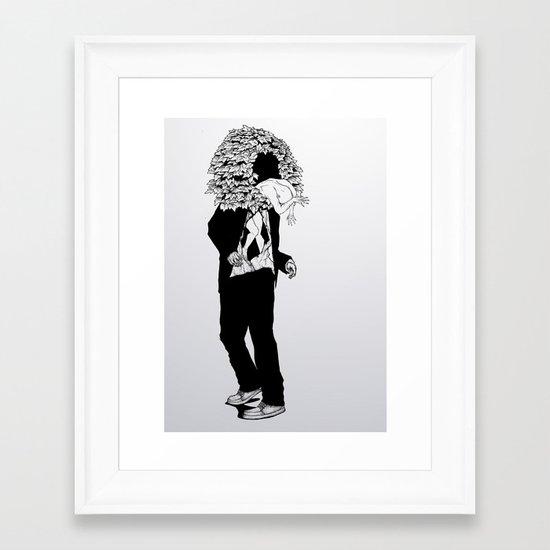 home sweet home 01 Framed Art Print
