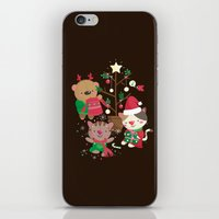 Holiday Crew iPhone & iPod Skin