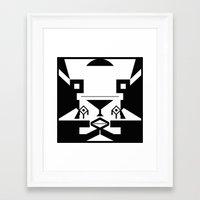 0001 Framed Art Print