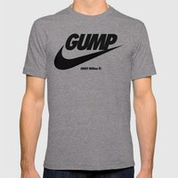 Gump Just Do It Mens Fitted Tee Tri-Grey SMALL