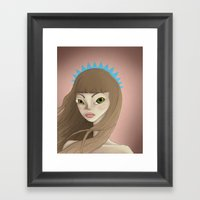 Wind Swept Framed Art Print