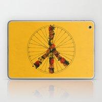 Peace & Bike (Colors) Laptop & iPad Skin