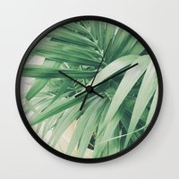 Foliage Wall Clock