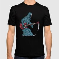 Bo Deadly Mens Fitted Tee Black SMALL