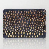 Pattern Play / Navy & Gold iPad Case