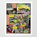 Vivita Spa KOMIX #1 Art Print