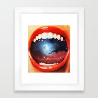 Taste Bud Regrowth Framed Art Print