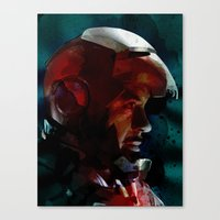 The Knight in the Shining Armour...  Canvas Print
