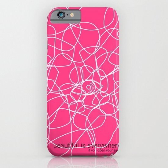see beauty iPhone & iPod Case