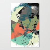 Krass Bros. Lady Canvas Print