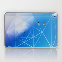 Gulls in Hexagram Flight Laptop & iPad Skin