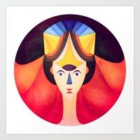 Geya  Art Print