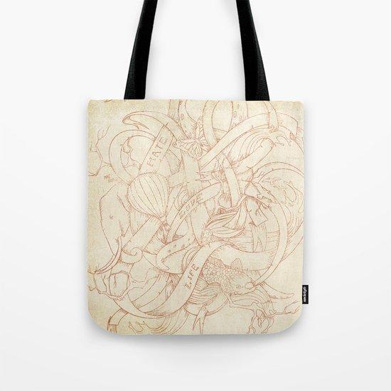 Abstract Nature | VACANCY zine | Tote Bag