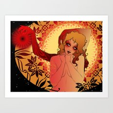 Cosmic Goddess Art Print