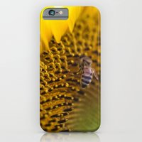 Busy Bee - Sunflower Macro iPhone 6 Slim Case