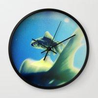 One Fish Two Fish Wall Clock