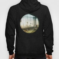 manhattan bridge morning Hoody