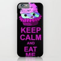 iPhone & iPod Case featuring Keep Calm And Eat Me by Redsun's Run
