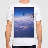 My Wing Tip Mens Fitted Tee Ash Grey SMALL