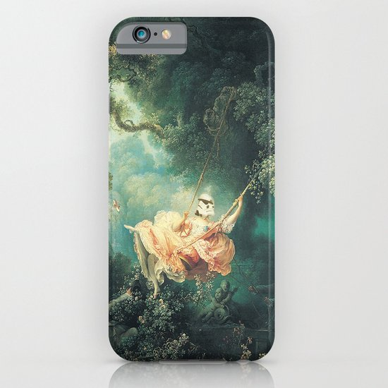 "Homage to Fragonard, ""The Swinging Stormtrooper"". iPhone & iPod Case"