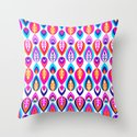 Pierrot II/Happy Memoir Pattern Throw Pillow