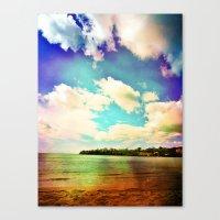Canvas Print featuring Rainbow Paradise by SmallIslandInTheSun