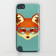 Hipster Fox iPod touch Slim Case