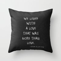 More Than Love Poster 01 Throw Pillow