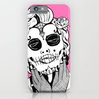iPhone & iPod Case featuring Dia De Los Marylin by tCAP