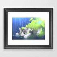 season change Framed Art Print