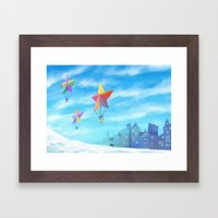 Star Travellers Framed Art Print