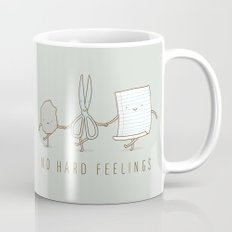 No Hard Feelings Mug