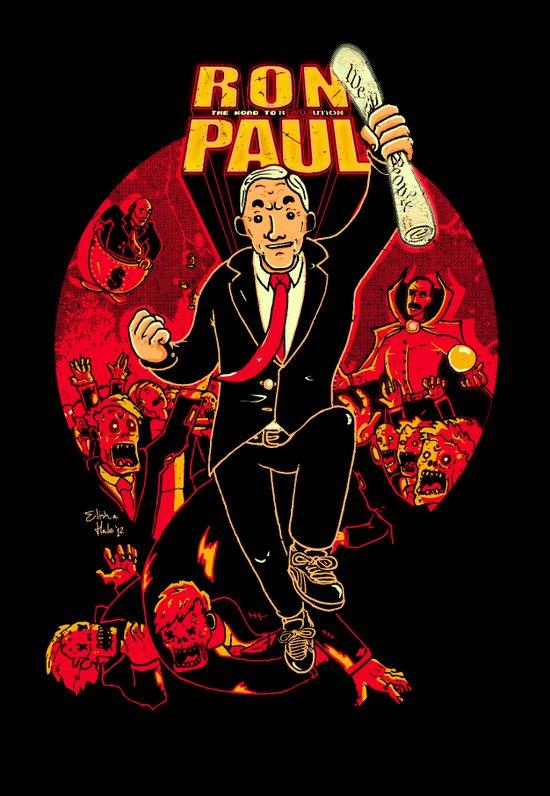 Ron Paul: The Road to REVOLution Art Print