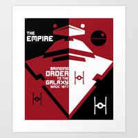 Order In The Galaxy Art Print