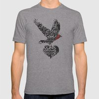 Gifts Mens Fitted Tee Athletic Grey SMALL