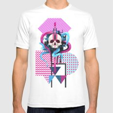 BeautifulDecay II Mens Fitted Tee White SMALL