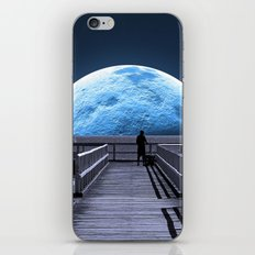 Once in a blue moon iPhone & iPod Skin