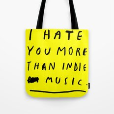 INDIE MUSIC Tote Bag