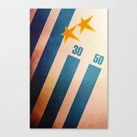 Uruguay World Cup Canvas Print