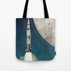 Apollo Rocket Tote Bag