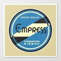 Empress Canvas Print