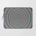 Psychedelic Rings Laptop Sleeve