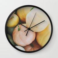 les citrouilles Wall Clock