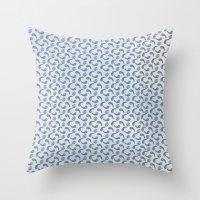 Lilypads & Paisleys Throw Pillow