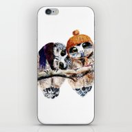 Winter Owls iPhone & iPod Skin