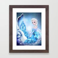 ELSA Framed Art Print