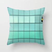 Ropes And Ladders Throw Pillow
