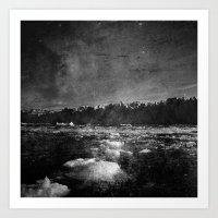 Glacial Art Print
