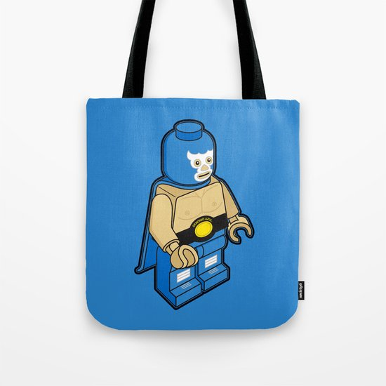 BLUE DEMON Tote Bag
