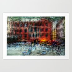 All About Italy. Piece 18 - Vernazza Spirit Art Print